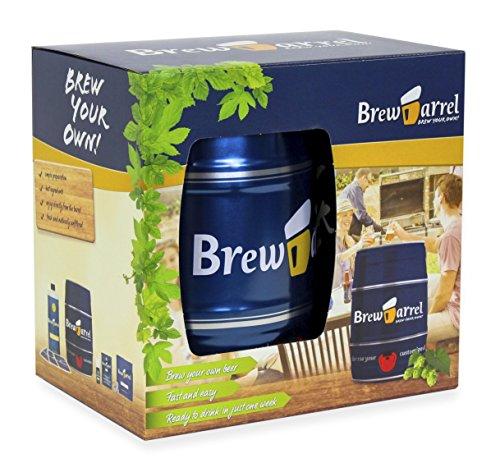 Kit de cerveza artesanal BrewBarrel...