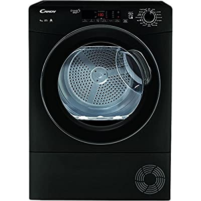 Candy GSVC9TGB 9kg Condenser Tumble Dryer - Black Black / Brand New with 1 Year Labour 10 Year Parts Warranty