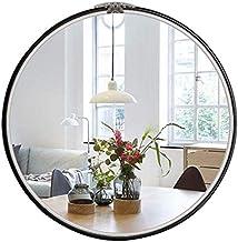 AI LI WEI Daily Necessities Espelho grande redondo de parede estilo europeu espelho de banheiro decoração de casa penteadeira
