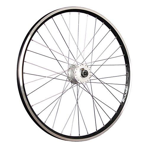 Taylor-Wheels 26 Zoll Vorderrad Laufrad ZAC2000 / Nabendynamo - schwarz