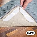Hosung Antirutschmatte Teppiche, Waschbar Antirutschmatte für Teppich Wiede Rverwendbar Teppichunterlage Teppichstopper - Idealer