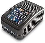 Yunique Italia Skyrc E3 2S Balance Caricabatterie AC 100 – 240 V per 2 – 3S LiPo RC batterie (15 W), Colore Nero, YX-7VRO-C6S5