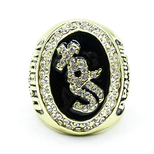 Champion Ring Fan High-End Collection Ring Fans Anillo de Decoración de Regalo, XIYUN, 11