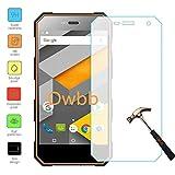 Owbb gehärtetes Glas Bildschirm schutzfolie Für NOMU S10 (5.0 zoll) Smartphone Explosionsgeschützter Film