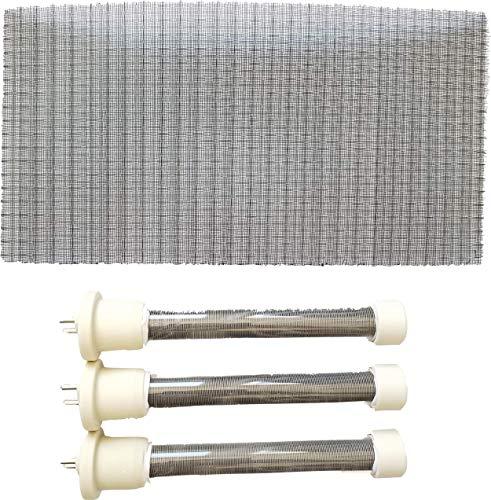 Complete Set of Longer Life Bulbs/Heating Elements 1500 watt EdenPURE GEN4 & USA1000 Bulb Kit Complete