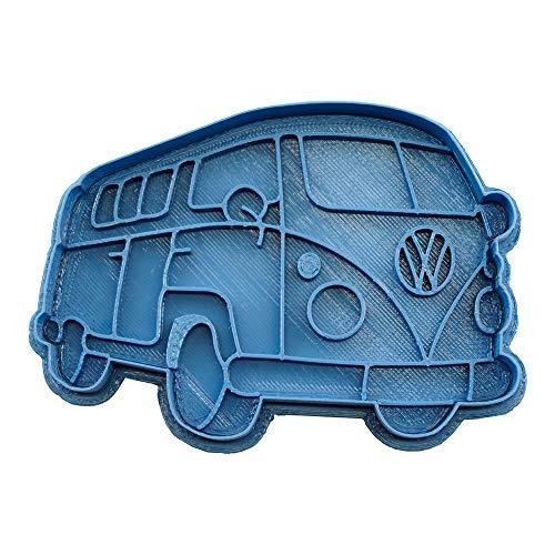 Cuticuter Volkswagen Ausstechform, Blau, 8x 7x 1.5cm