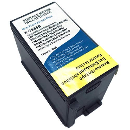 KLDink 793-5 Red Ink Cartridge DM100 4-Pack for Pitney Bowes P700 DM100i /& DM200L Postage Meters
