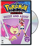 Pokemon 6: Advanced Battle - Deceit & Assist [DVD] [Import]