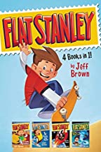 Flat Stanley 4 Books in 1!: Flat Stanley, His Original Adventure; Stanley, Flat Again!; Stanley in Space; Stanley and the ...