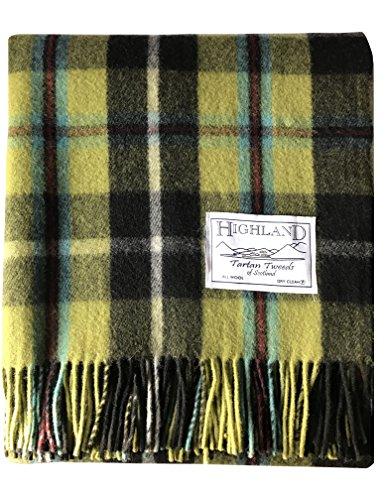 TARTAN TWEEDS - Coperta da picnic in lana fine, 64 x 76 cm Nazionale della Cornovaglia Taglia unica