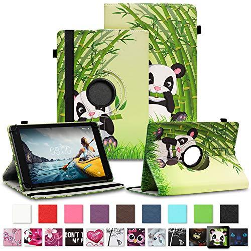 NAUC Tablet Schutzhülle für Medion Lifetab P8912 Hülle Tasche Standfunktion 360° Drehbar Cover Universal Hülle, Farben:Motiv 11