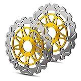 RONGLINGXING Pieces de Sport Motorise Frein avant disque rotor for DUCATI MONSTER 620 696 750 800 900 996 1000...