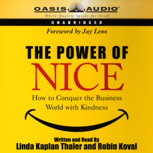 The Power of Nice audiobook cover art