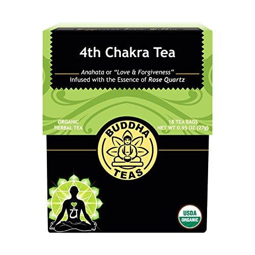4th Chakra Tea - Kosher, Caffeine-Free, GMO-Free - 18 Bleach-Free Tea Bags