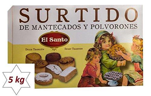 Weihnachtsgebäckmischung / Surtido El Santo - 5,000 Kg