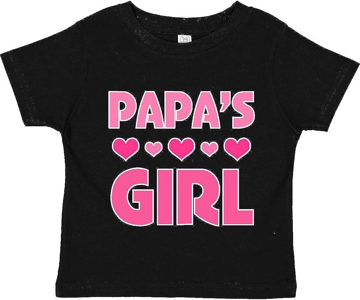 inktastic Papas Girl Granddaughter Gift Toddler T-Shirt