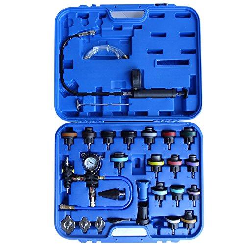 Universal Kühler-Tester Set Kühlsystem Prüfer Zylinderkopf Kühler Abdrücker Tester Auffüller