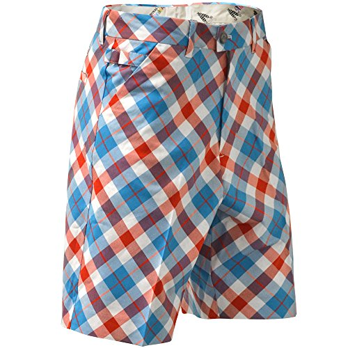 LONGRIDGE Plaid a Blinder - Pantaloncini da Uomo, Multicolore (Multicolore), 46