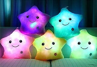 Rainbow Fox LED de luz blanca de felpa almohadilla del