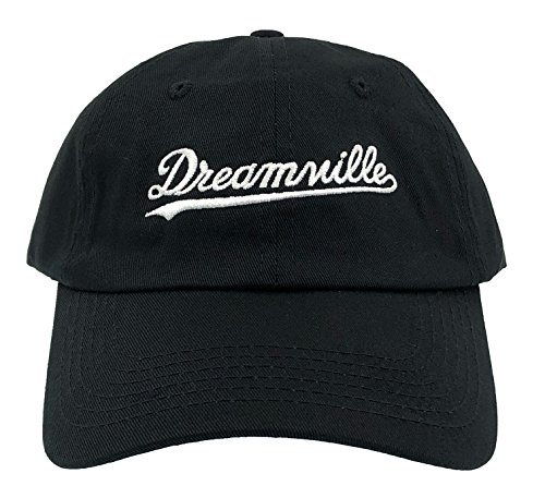 Dream Hat Born Sinner Crown Dad Hat Baseball Cap Embroidered Adjustable, Black, One Size