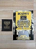 BOOWY ステッカー2枚 ロック 音楽