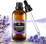 Innoo Tech True Lavender Essential Oil 100ml - Pure, Natural, Cruelty Free, Vegan, Steam Distilled and Undiluted - to use in Aromatherapy & Diffusers