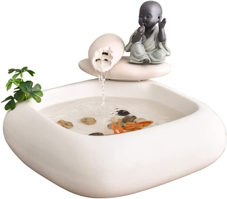 XIAOLI Zen Meditation Fountain Tabletop Challenge the lowest price of Japan ☆ Waterfall Max 69% OFF