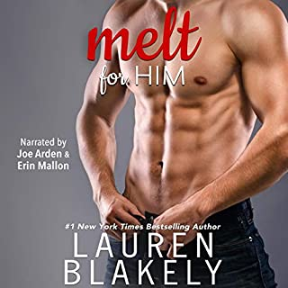 Melt for Him                   Auteur(s):                                                                                                                                 Lauren Blakely                               Narrateur(s):                                                                                                                                 Erin Mallon,                                                                                        Joe Arden                      Durée: 6 h et 8 min     1 évaluation     Au global 5,0