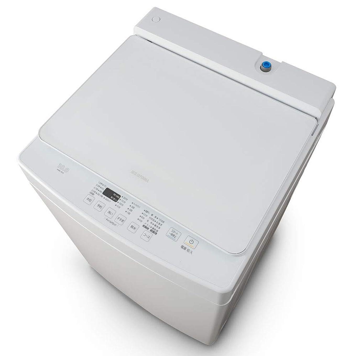 連隊何かフォージアイリスオーヤマ 洗濯機 10kg 全自動洗濯機 幅58.6cm PAW-101E
