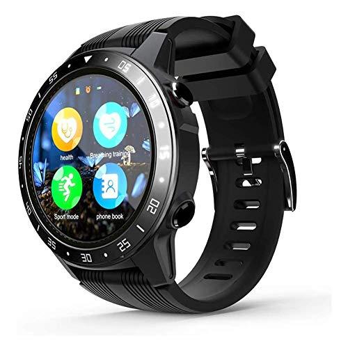 ZHICHUAN el Reloj de Manera Inteligente Tk05 1.3Inch Pantalla Bt 3.0/4.0 Podómetro Del Ritmo Cardíaco de Alarma Remoto de la Cámara a Prueba de Agua Deportes Gps Smartwatch Hombre