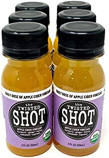 Sponsored Ad - The Twisted Shot | Organic Apple Cider Vinegar Shots with Turmeric, Ginger, Cinnamon, Honey & Cayenne | Imm...