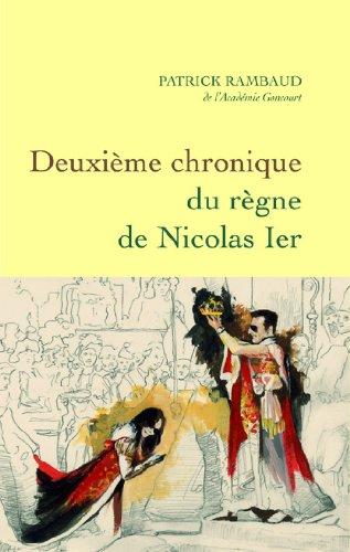 Deuxième chronique du règne de Nicolas Ier (Littérature Française)