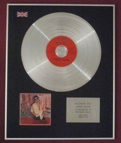 Bruce springsteen- Platinum disc-lucky Town
