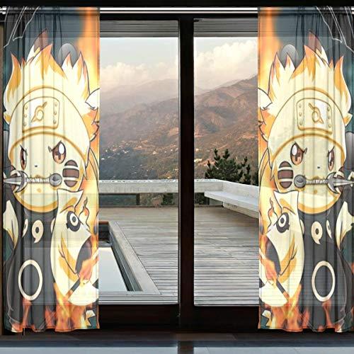 cortinas para habitacion naruto
