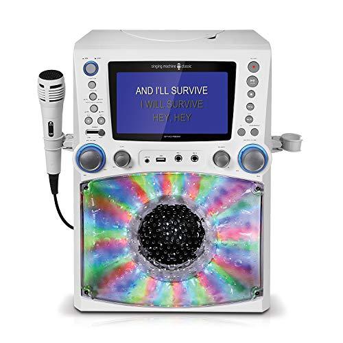 Singing Machine STVG785W Karaoke Machine