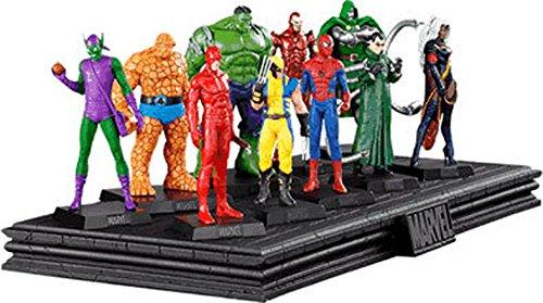 Expositor de Resina para 10 figuras de la colección Marvel Figurine C