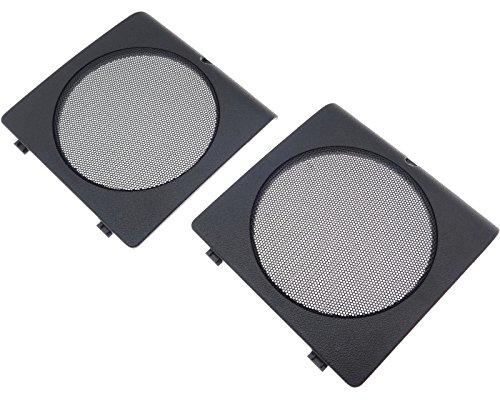 Lautsprecher Adapter Ringe Grill Gitter Türe 145 x 148mm 130mm kompatibel mit VAG Golf II Jetta 2