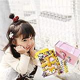 Zoom IMG-1 mollette capelli bambina scatola regalo