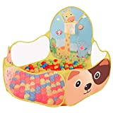 Westeng Ball Pool Hexagon Polka Dot Play House Crush Pit Ball Baby Kids Cute Toy Tent Easy Folding Portable