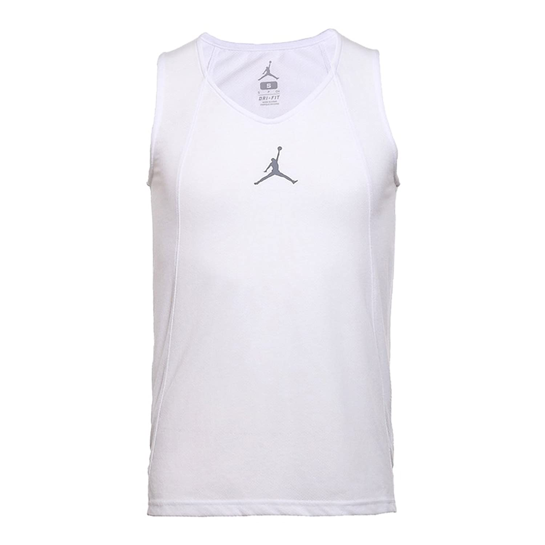 Nike Men's JORDAN BRANDAS FLIGHT RISE JERSEY ナイキ メンズ ホワイト ジョーダン タンクトップ 789481-100 [並行輸入品]