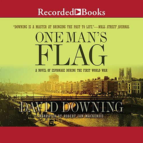 One Man's Flag audiobook cover art