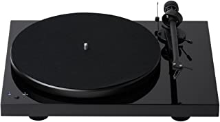 Pro-Ject Debut Recordmaster Turntable, Piano Black/High Gloss (Debut RM (OM10))