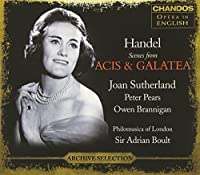 Handel: Scenes from Acis & Galatea by Joan Sutherland (2008-01-15)