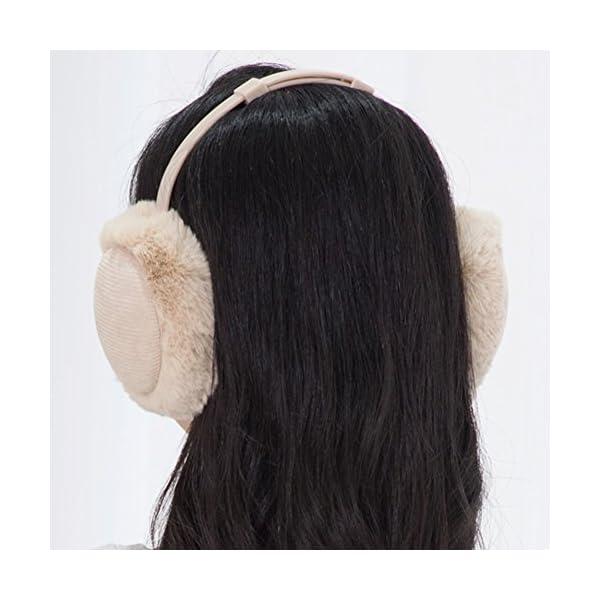 Women's Winter Warm Earmuffs Thickened Adjustable Plush Ear Cover Keep Ears Warm