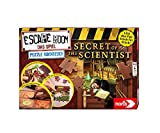 noris 606101966 - Escape Room Secret of The Scientist – Puzzle Abenteuer - Familien und Gesellschaftsspiel für Puzzle-Fans, inkl. 3 Fällen, ab 14 Jahren