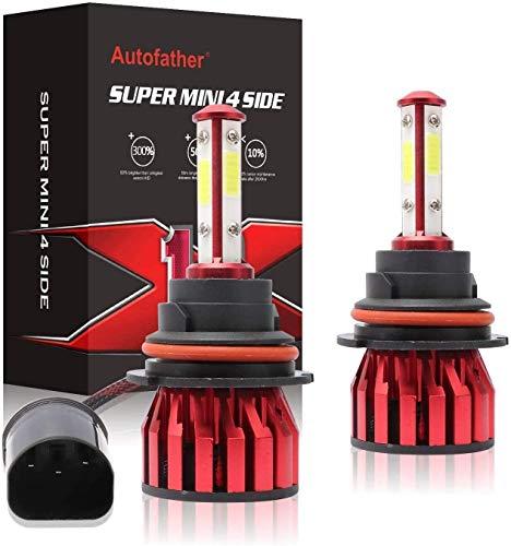 9007 LED Headlight Bulb, 40W 6000K(White Light) 20000LM Extremely Brigh Hi