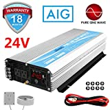 3000W Pure Sine Wave Power Inverter DC 24V to AC 110V Power Converter