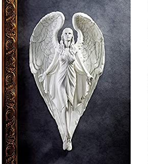 Design Toscano Spiritual Path Angel Wall Sculpture