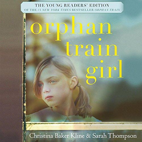 Orphan Train Girl audiobook cover art
