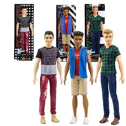 Barbie Ken Fashionistas Classic Cool Doll, Modèle aléatoire